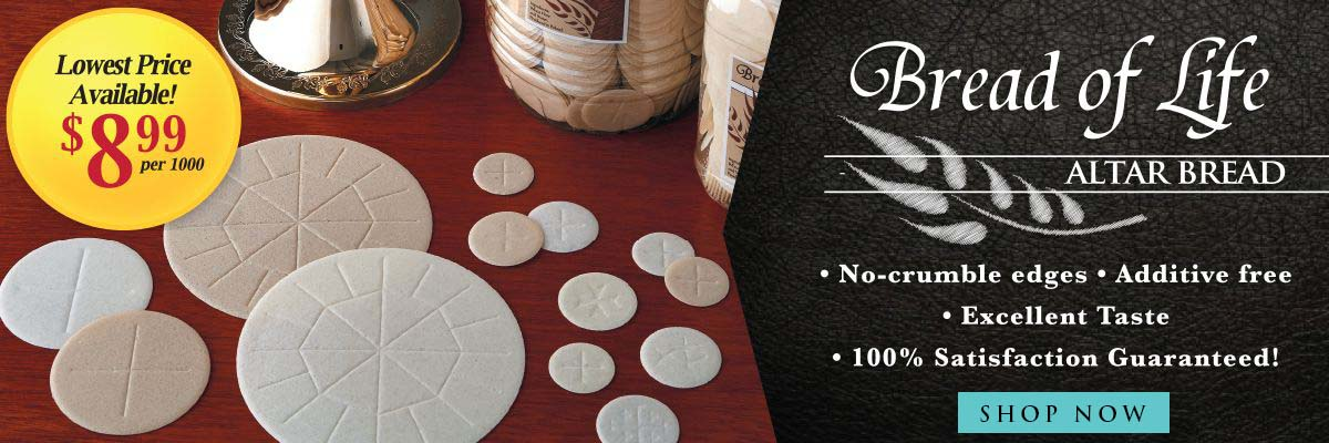 Shop our Best-Selling Altar Bread - Bread of Life!