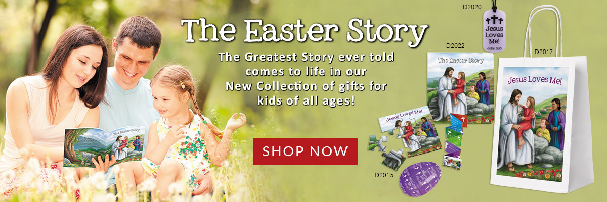Gifts Inspired by the greatest story ever told - The Easter Story!