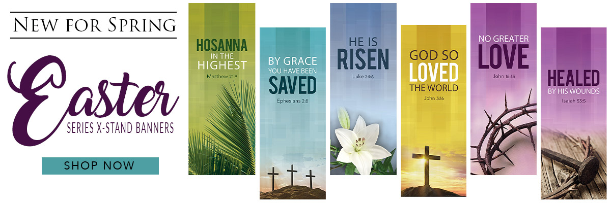 Autom Easter Worship Banners