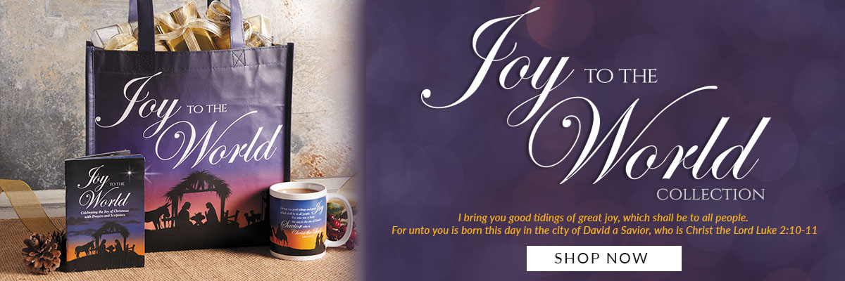 Shop the Joy to the World Collection. Celebrating the birth of our Savior