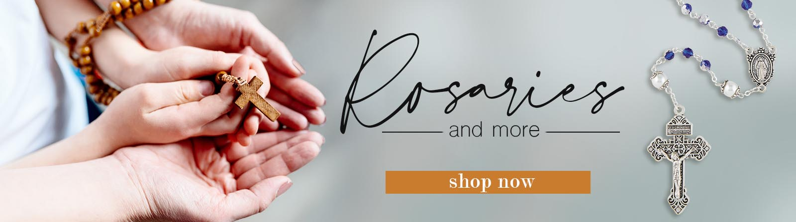 Rosaries and More - Shop now