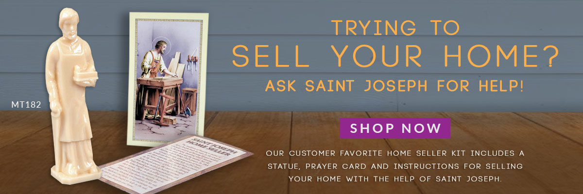 The St. Joseph Home Seller Kit can provide piece of mind when selling your home. Buy yours today!
