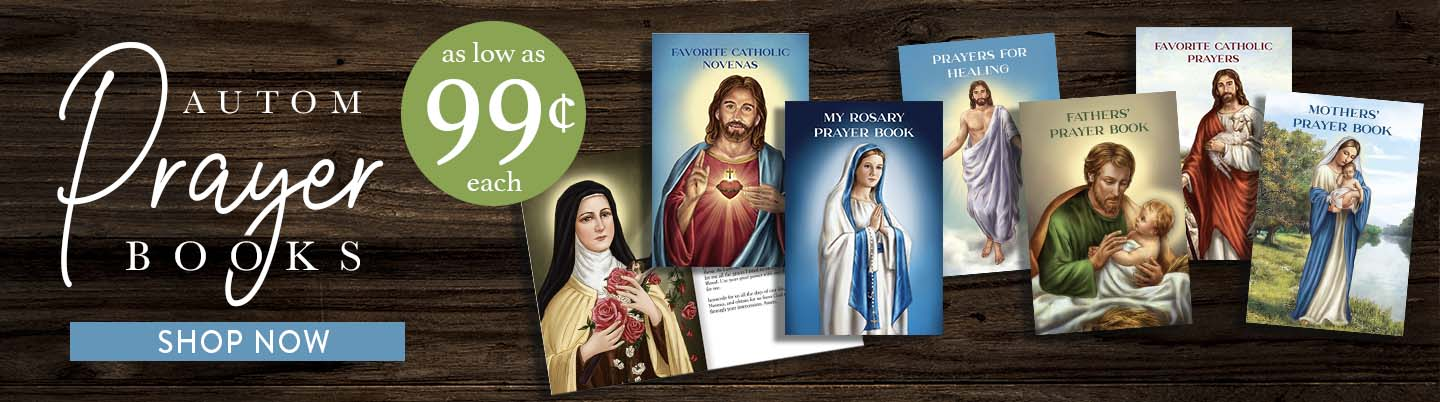 Autom Prayer Books. As low as 99 Cents each.