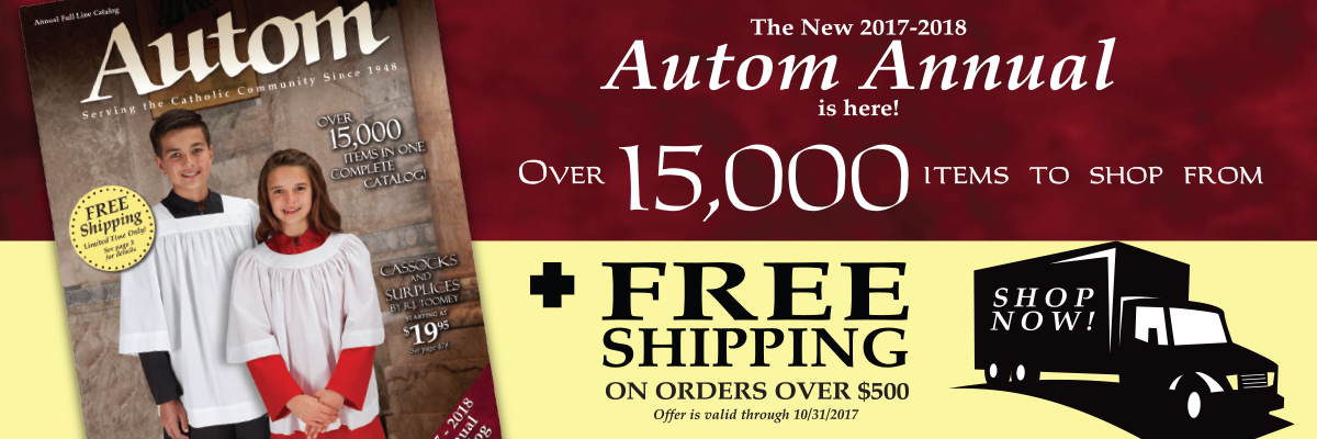 The New Autom Annual is here! Free Shipping on order over $500. Click Here.