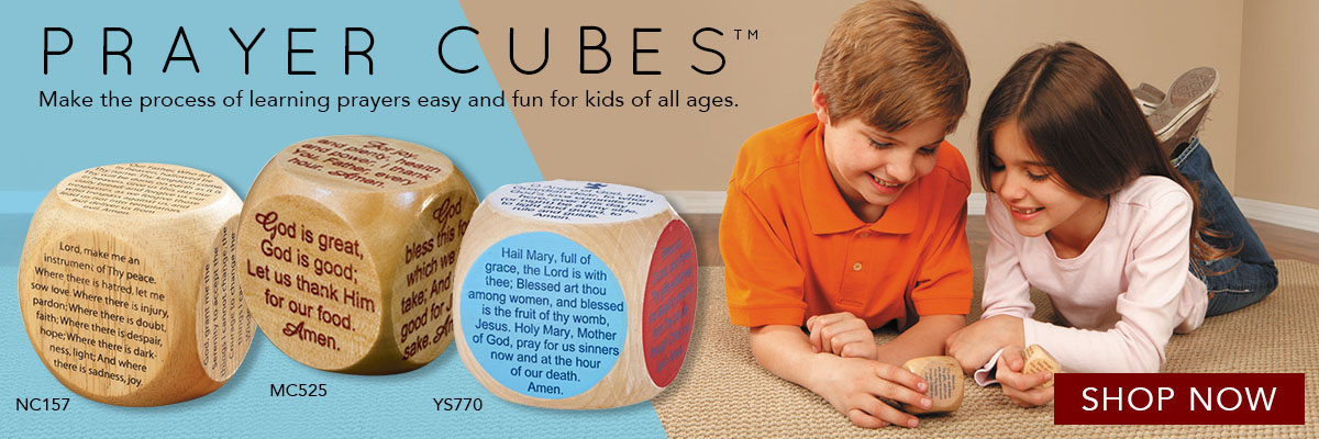 Prayer Cubes™- Making the process of learning prayers fun!