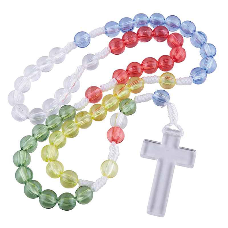 Mission Cord Rosary - 12/pk
