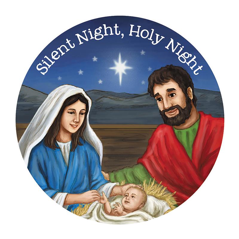Silent Night, Holy Night Magnet - 36/pk