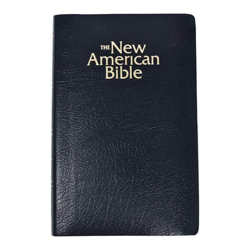 St. Joseph New American Bible (NABRE) Gift & Award Edition-Black