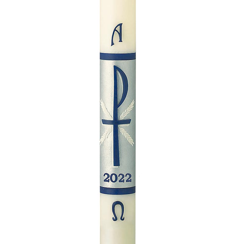 No 6 Hosanna Paschal Candle
