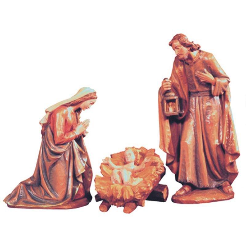3-Piece Nativity Set - Wood