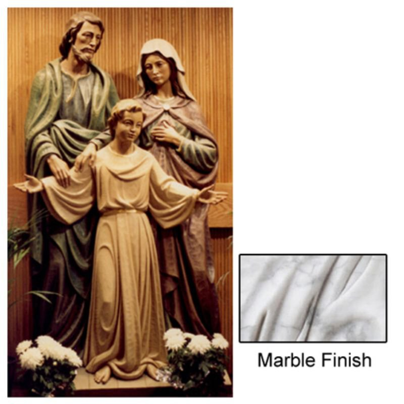 Holy Family Statue - Marble