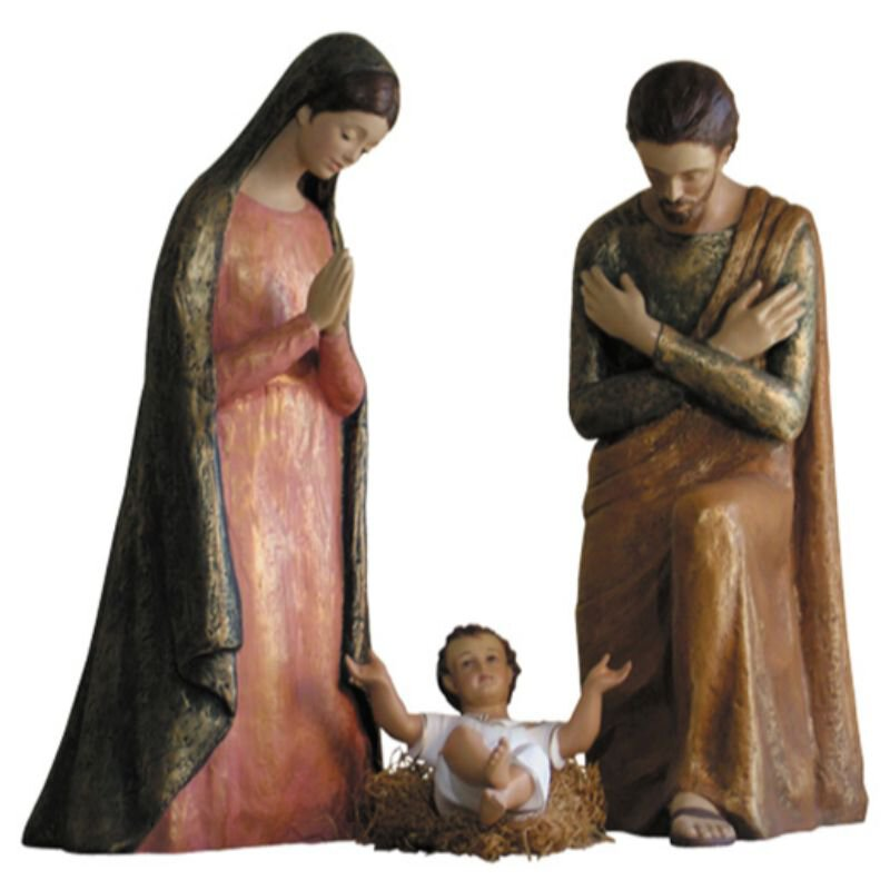 Modern Nativity Set - Color