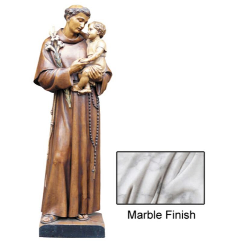 St Anthony Statue - Marble