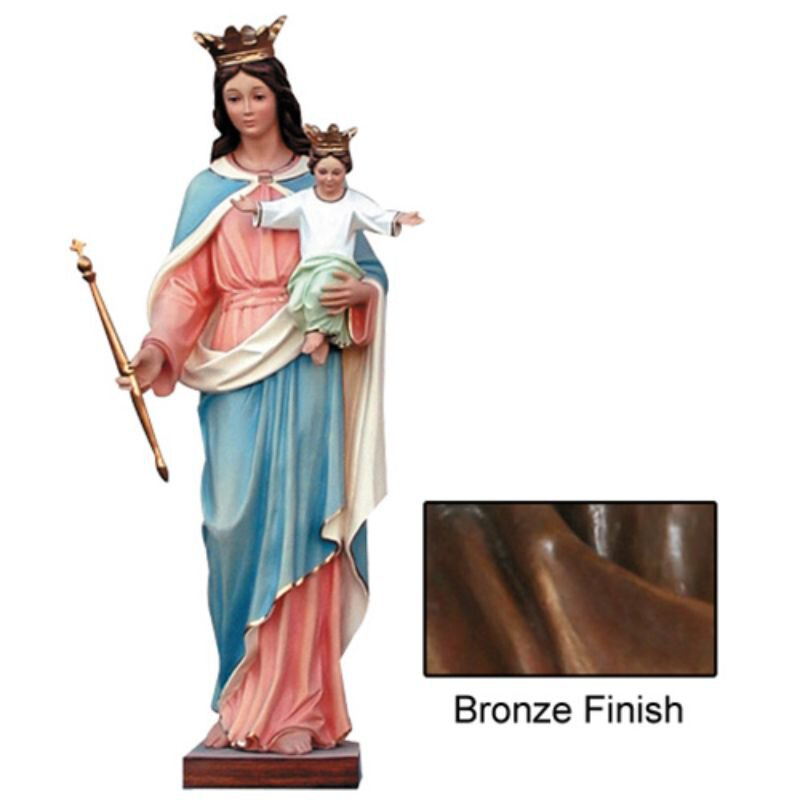 Our Lady of Perpetual Help Statue - Bronze