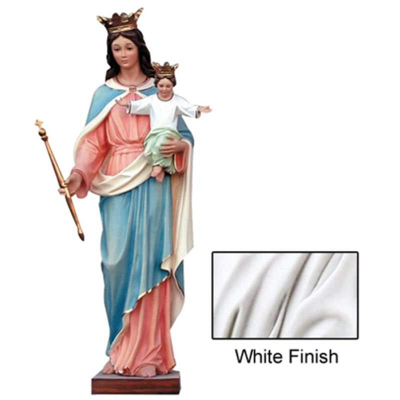 Our Lady of Perpetual Help Statue - White