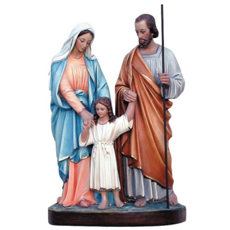 Holy Family Statue - Color