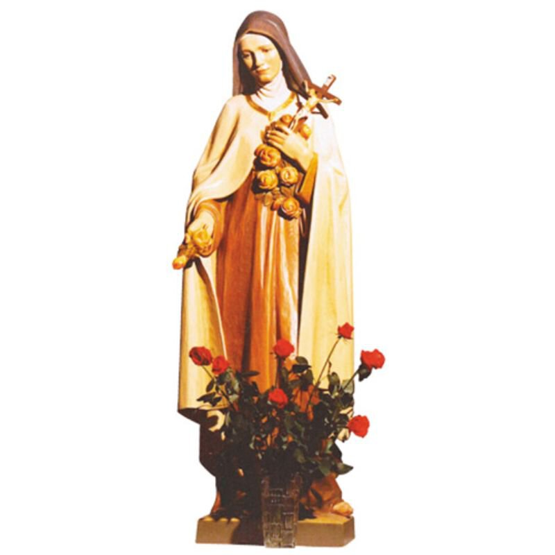 St Theresa Statue - Wood
