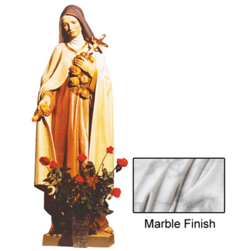 St Theresa Statue - Marble