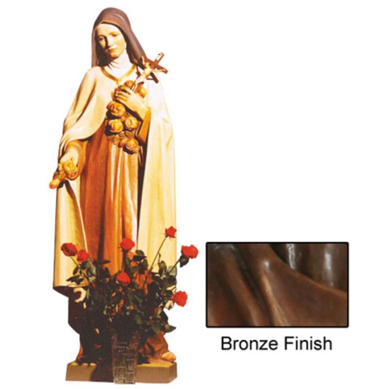 St Theresa Statue - Bronze