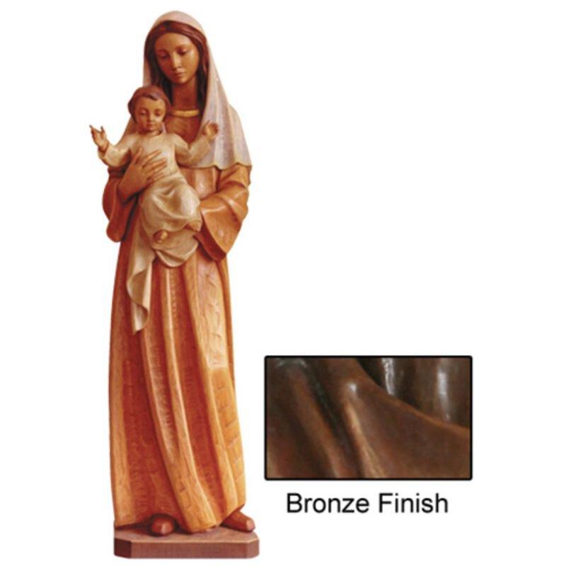 Madonna and Child of Fondness Statue - Bronze