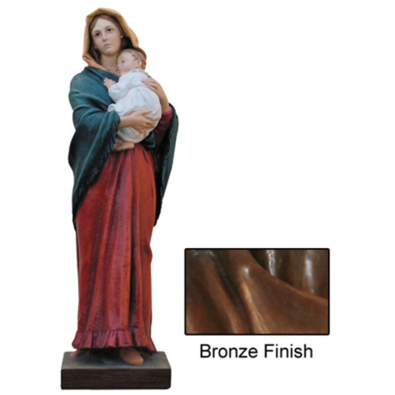 Madonna of the Streets Statue - Bronze