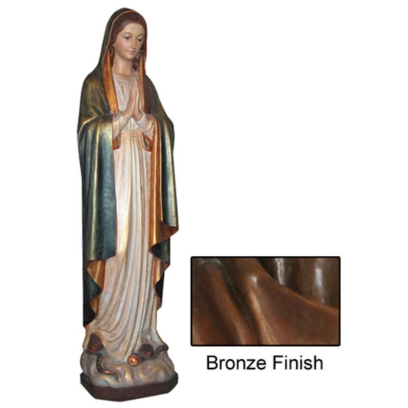 Mary Immaculate Statue - Bronze