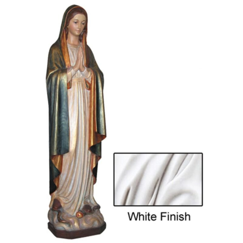 Mary Immaculate Statue - White