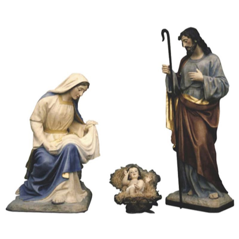 "32"" Nativity Set - Color"