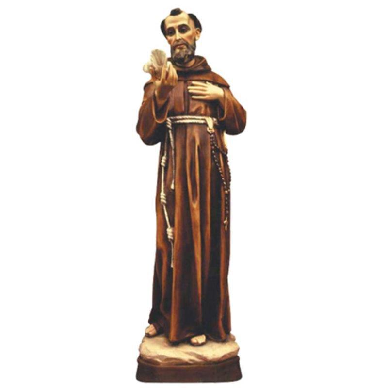 St Francis Statue - Color