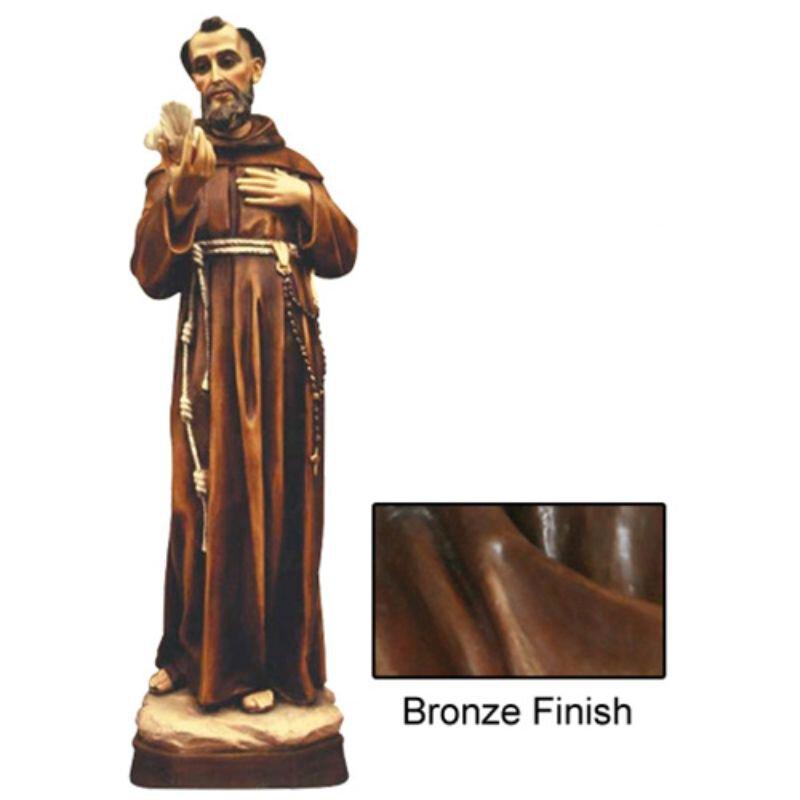 St Francis Statue - Bronze