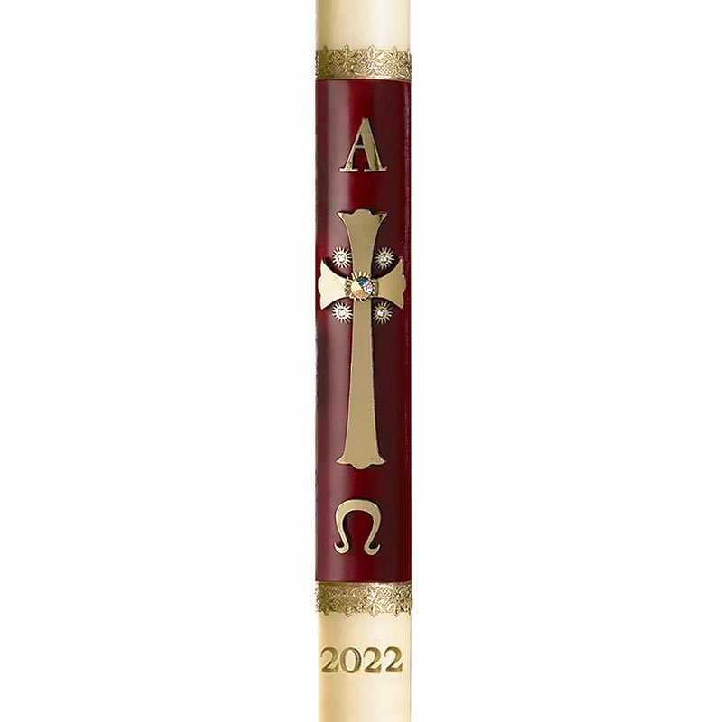 No 4 Special Majesty Paschal Candle