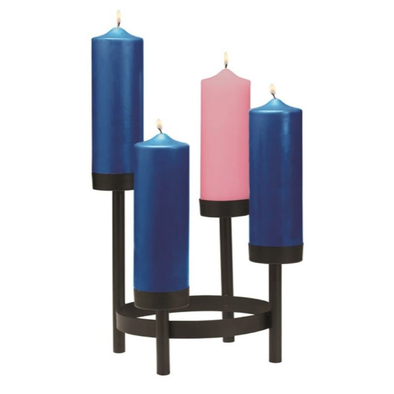 Advent Tier Candleholder with Sockets