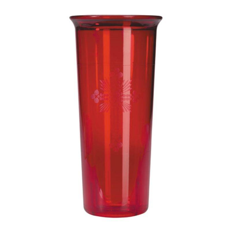 Red Plastic Globe