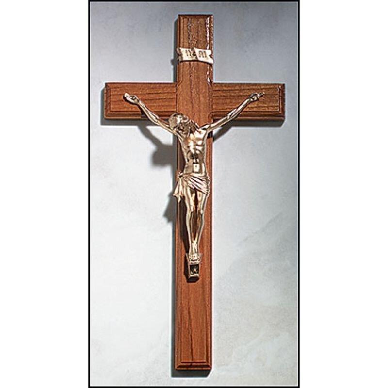 """12"""" Wall Crucifix"""