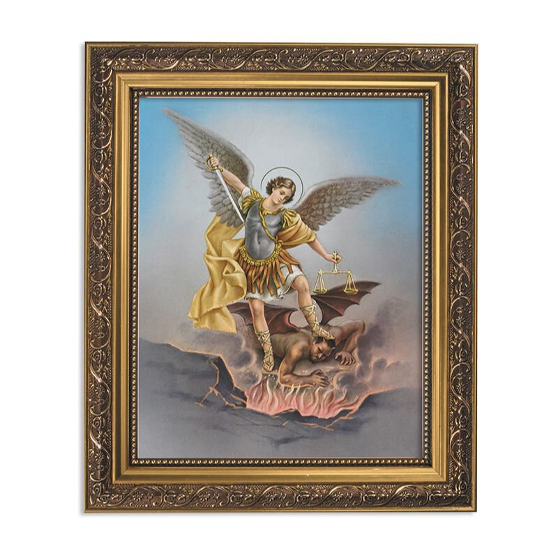Saint Michael Framed Print