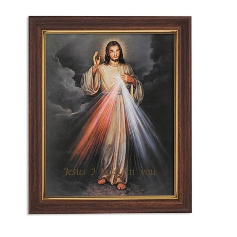 """FRM PRT 12.5"""" The Divine Mercy"""
