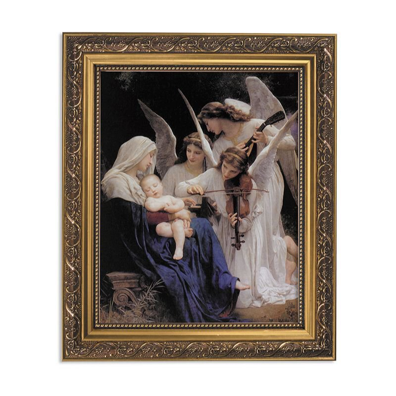 Bouguereau: Song of the Angels Framed Print