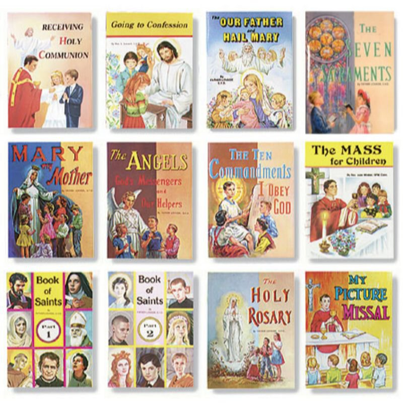 St. Joseph Picture Book Assortment (12 Asst) - 12/pk