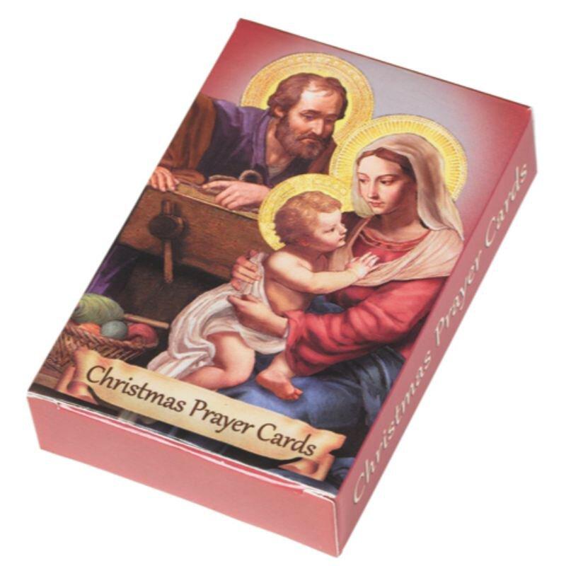 Christmas Prayers Wallet Card Assortment - 24 bx/pk
