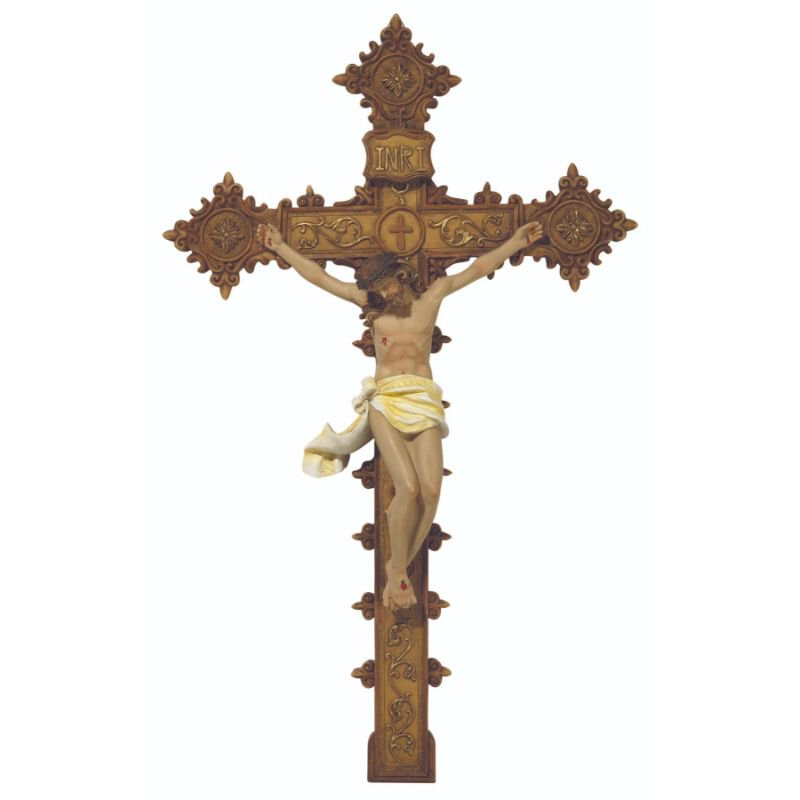 Ornate Wall Crucifix