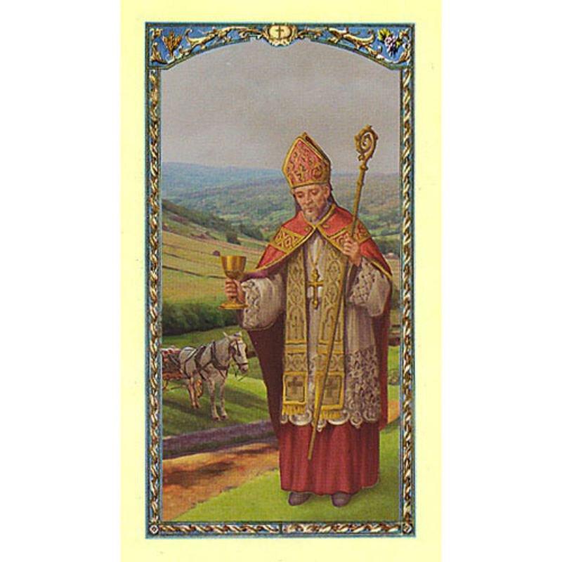 St Richard Laminated Holy Card - 25/pk