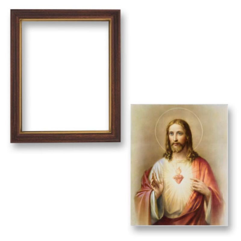 Framed Sacred Heart of Jesus