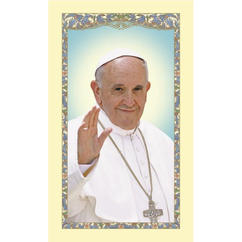 Pope Francis Prayer Holy Card - 25/pk
