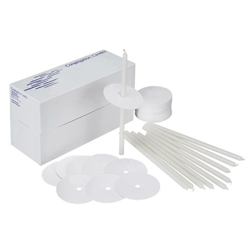 "Candlelight Service Kit - 8-1/2"" - 100/bx"