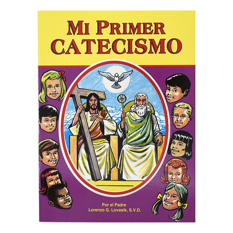 St. Joseph Picture Book - Mi Primer Catecismo (My First Catechism) - 10/pk