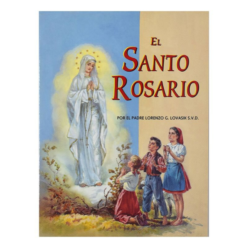 St. Joseph Picture Book - El Santo Rosario (The Holy Rosary) - 10/pk