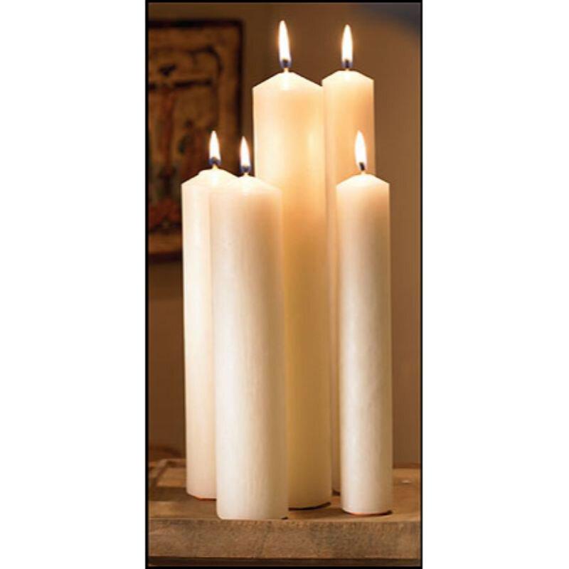 "12"" Large Diameter Plain End Altar Brand® Candle"