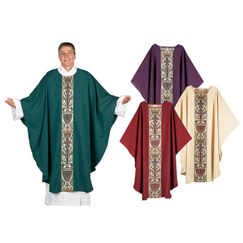 Coronation Collection Tapestry Chasubles - Set of 4