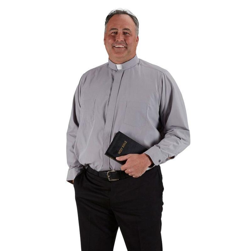 Big & Tall - Roomey Long Sleeve Shirt French Cuff