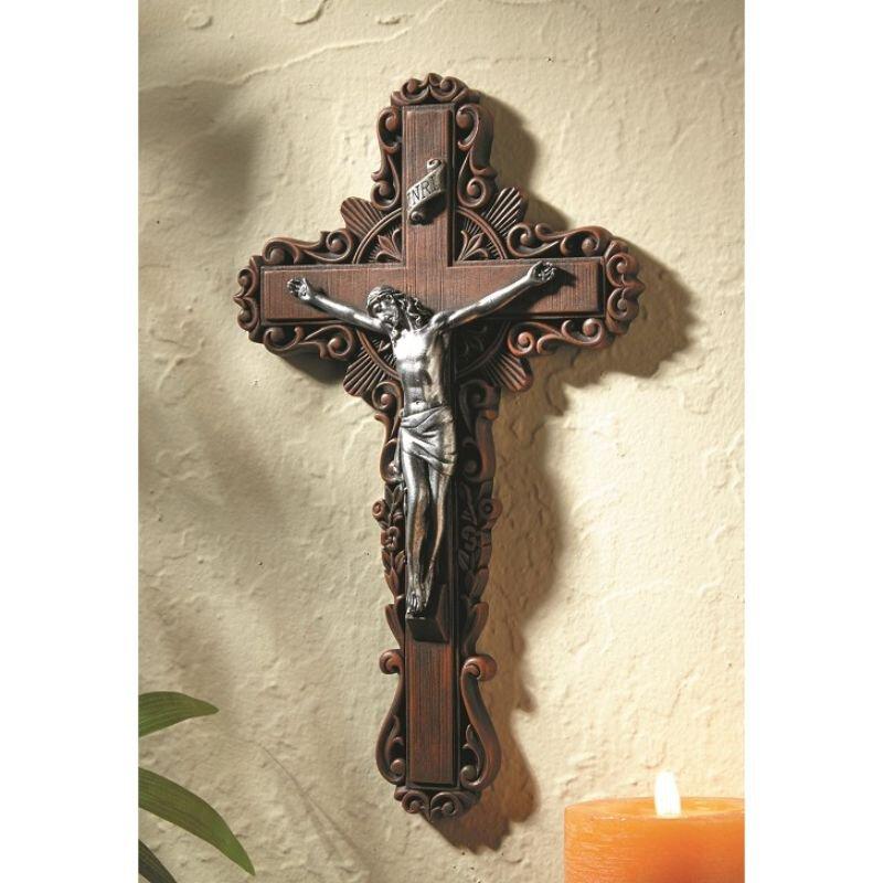 """10"""" Calvary Pastoral Crucifix"""